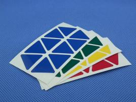 Naklejki Pyraminx Halczuk Stickers Normal