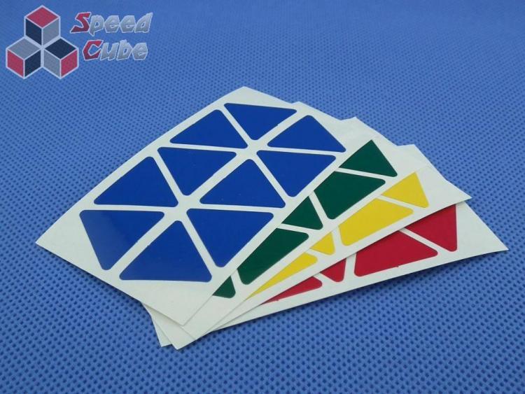 Naklejki Halczuk Stickers Pyraminx Normal
