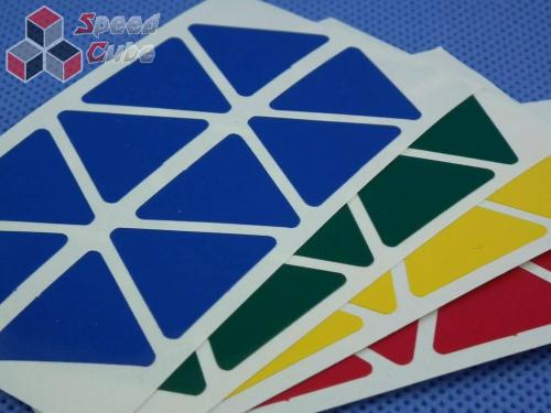 Naklejki Halczuk Stickers Pyraminx Normal