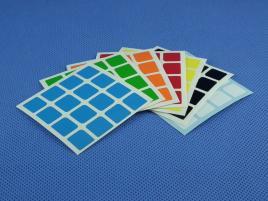 Naklejki 4x4x4 Halczuk Stickers AoSu Mini Half Bright