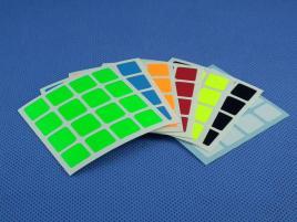 Naklejki 4x4x4 Halczuk Stickers AoSu Mini Fluo