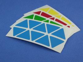 Naklejki Pyraminx Halczuk Stickers Half Bright