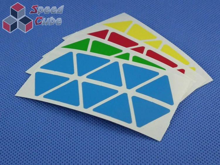 Naklejki Halczuk Stickers Pyraminx Half Bright