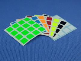 Naklejki 4x4x4 Halczuk Stickers YuXin Fluo