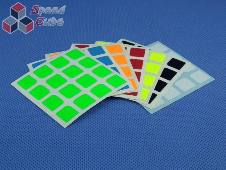 Naklejki Halczuk Stickers YuXin Fluo 4x4x4