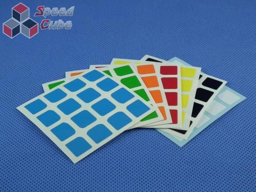 Naklejki Halczuk Stickers YuXin Half Bright 4x4x4