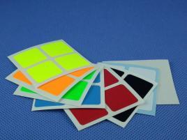 Naklejki 2x2x2 Halczuk Stickers Fluo