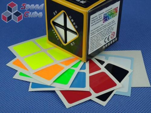 Naklejki Halczuk Stickers 2x2x2 Fluo
