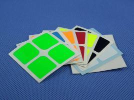 Naklejki 2x2x2 Halczuk Stickers Florian Fluo