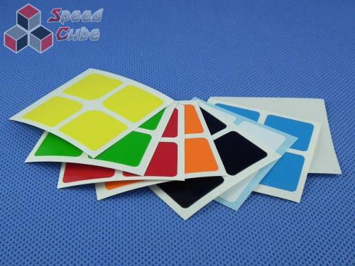 Naklejki 2x2x2 Halczuk Stickers Florian Half Bright