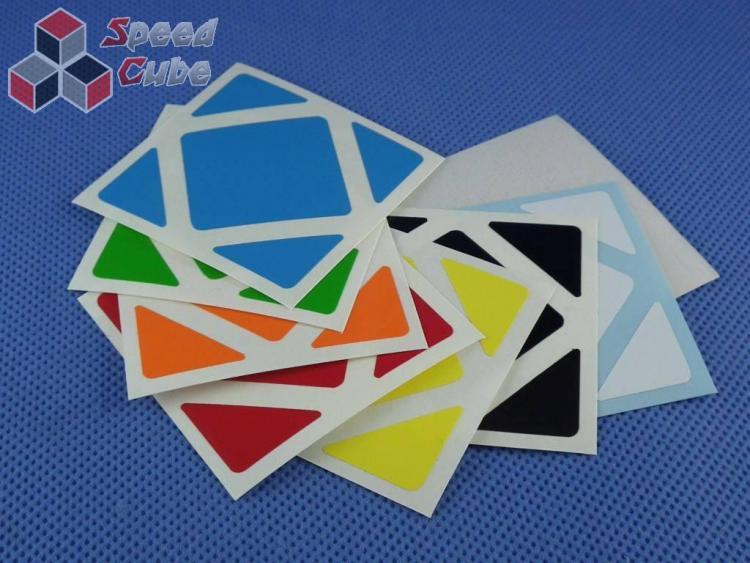 Naklejki Skewb Halczuk Stickers Half Bright