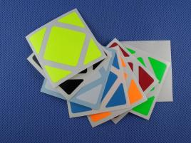 Naklejki Skewb Halczuk Stickers Fluo