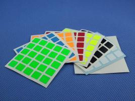 Naklejki 5x5x5 Halczuk Stickers Fluo