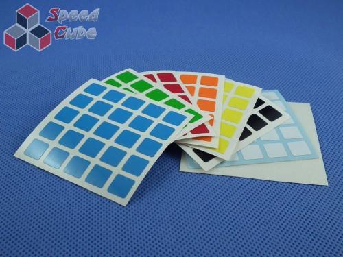 Naklejki 5x5x5 Halczuk Stickers Half Bright