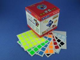 Naklejki 5x5x5 Halczuk Stickers Florian Fluo