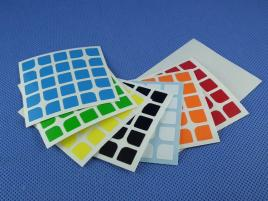 Naklejki 5x5x5 Halczuk Stickers Florian Half Bright