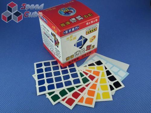Naklejki 5x5x5 Halczuk Stickers Florian Normal
