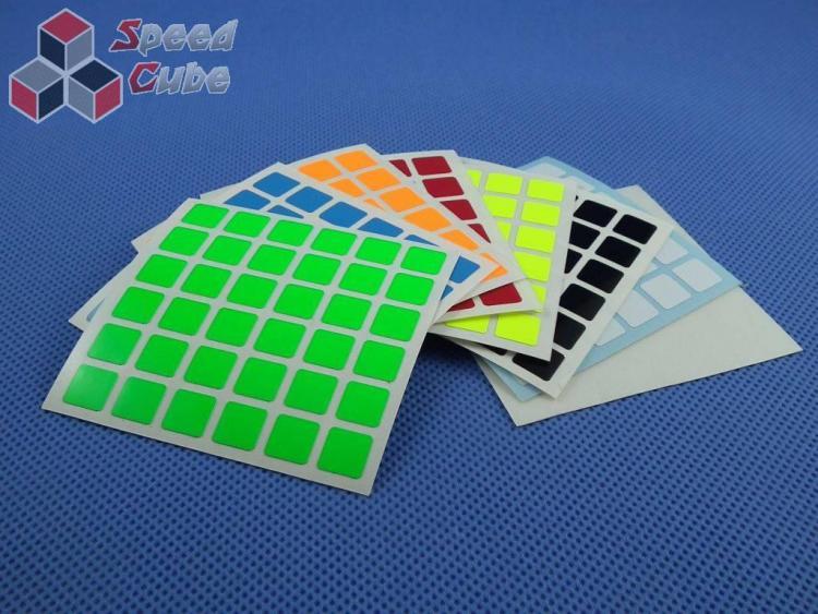 Naklejki 6x6x6 Halczuk Stickers Fluo