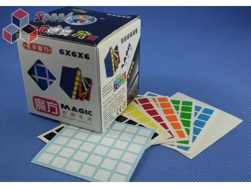 Naklejki 6x6x6 Halczuk Stickers Half Bright