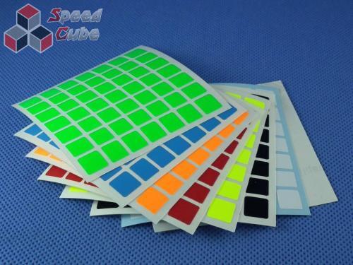 Naklejki 7x7x7 Halczuk Stickers Fluo