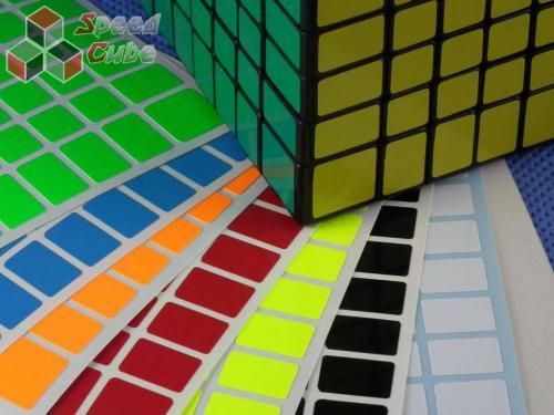 Naklejki 8x8x8 Halczuk Stickers Fluo