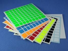 Naklejki 9x9x9 Halczuk Stickers Fluo