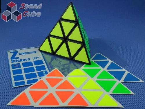 Naklejki Z-Stickers Pyraminx Fluo