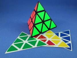 Naklejki Pyraminx Z-Stickers Normal