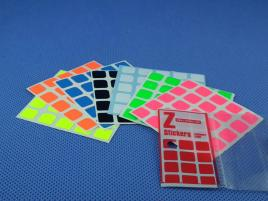 Naklejki 5x5x5 Z-Stickers MoYu Full Bright