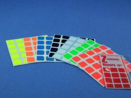 Naklejki 5x5x5 Z-Stickers MoYu Z-Bright