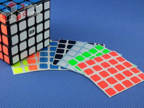 Naklejki Z-Stickers MoYu 5x5x5 Z-Bright
