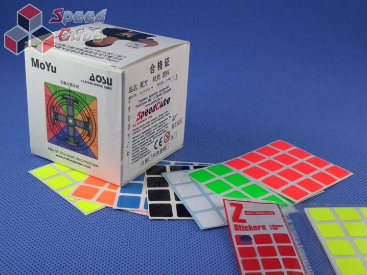 Naklejki Z-Stickers MoYu AoSu 4x4x4 Z-Bright