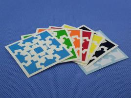 Naklejki Gear Cube Halczuk Stickers Half Bright