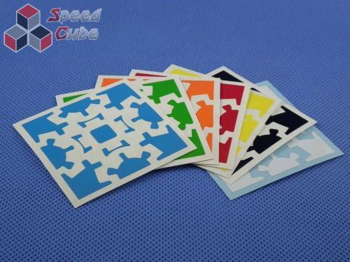 Naklejki Gear Cube Halczuk Stickers Half Bright