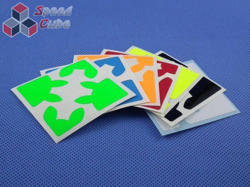 Naklejki Gear Shift Halczuk Stickers Fluo