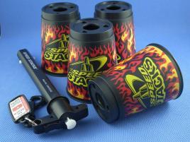 Kubki Speed Stacks Płomienie (Black Flame)