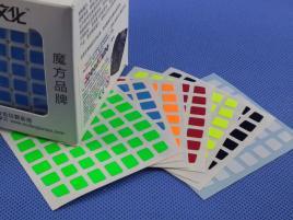 Naklejki 7x7x7 Halczuk Stickers AoFu Fluo