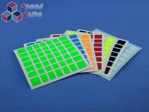 Naklejki 7x7x7 Halczuk Stickers AoFu GT Fluo