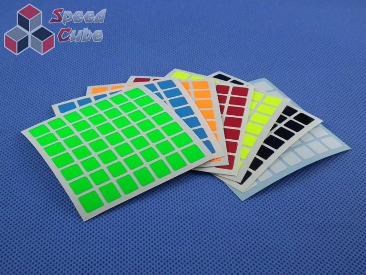 Naklejki 7x7x7 Halczuk Stickers SS Mini Fluo