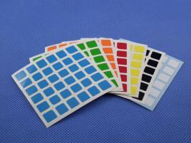 Naklejki 6x6x6 Halczuk Stickers MoYu Half Bright