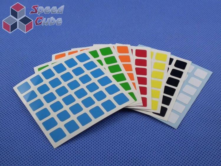 Naklejki 6x6x6 Halczuk Stickers MoYu Half Briht