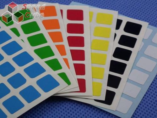 Naklejki 5x5x5 Halczuk Stickers MoYu Half Bright