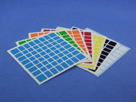 Naklejki 8x8x8 Halczuk Stickers Half Bright