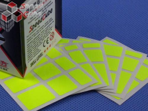 Naklejki Mirror Halczuk Stickers Fluo Yellow