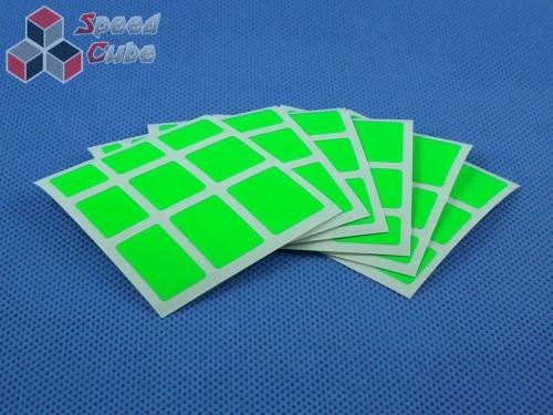 Naklejki Mirror Halczuk Stickers Fluo Green