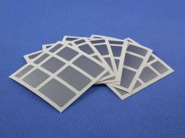 Naklejki Mirror Halczuk Stickers Silver