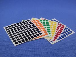 Naklejki 9x9x9 Z-Stickers YuXin YJ