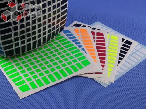 Naklejki 11x11x11 Halczuk Stickers Fluo
