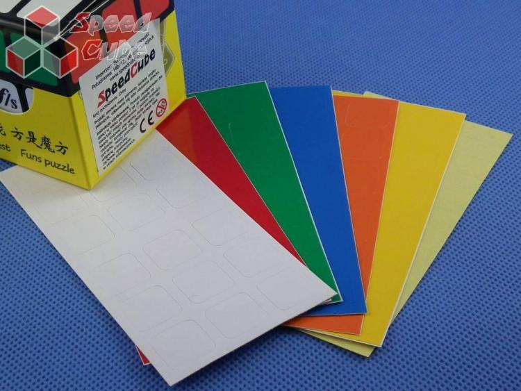 Naklejki 3x3x3 Stickers FangShi 57 Oryginał