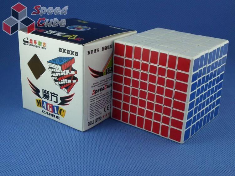 ShengShou 8x8x8 Biała